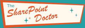 SharePoint Doctor 1950's style logo