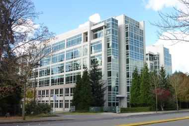 Building 40 at Microsoft's Redmond Campus