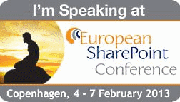 European SharePoint Conference, Stockholm 2015