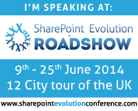 SharePoint Evolution Roadshow, 2014